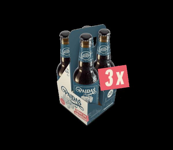 Pajdašev darilni paket s 3 x 4 steklenicami Premium Temno Pivo