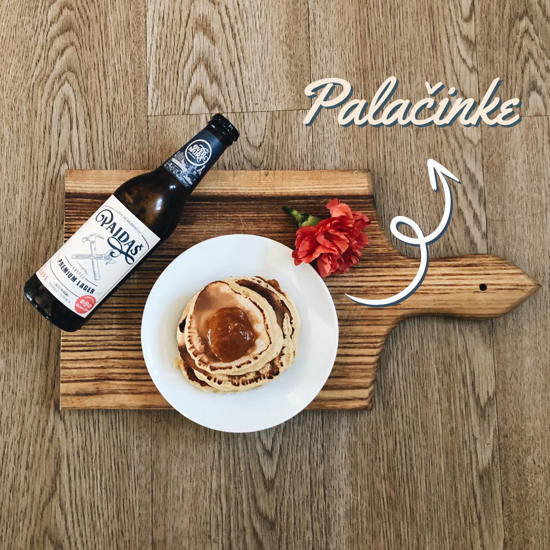 Recept – palačinke s Pajdaševim pivom